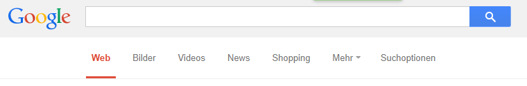 Google Search Tabs