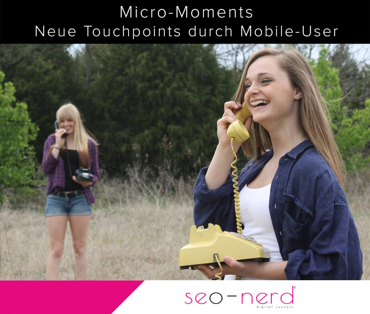 Micro Moment bestärken Mobile Marketing