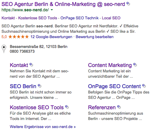 seo-nerds Rich Snippets